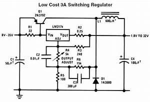 19v dc regulation circuit diagram repository nextgr With lm338 datasheet