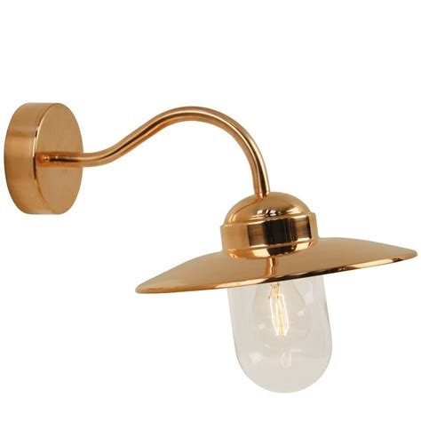nordlux luxembourg outdoor wall light copper outdoor