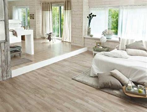 dans la chambre deco chambre blanc et bois design de maison