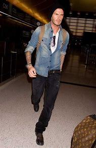David Beckham Denim Shirt