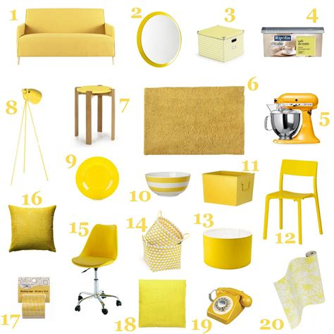 maisons du monde canapé du jaune dans ma déco so what