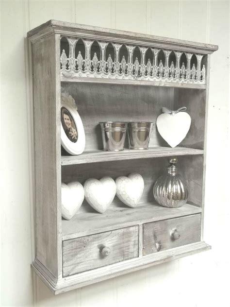shabby chic shelf unit shabby chic wall unit shelf storage cupboard cabinet french vintage style amazing grace interiors