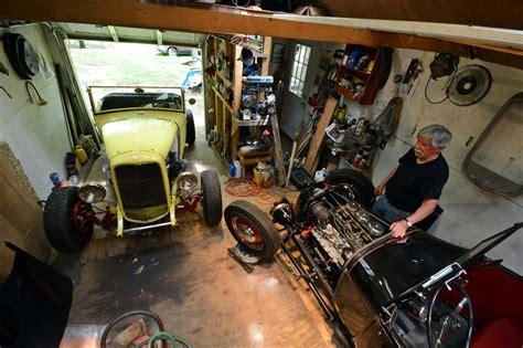 rod garage show school rods built in a one car garage rod