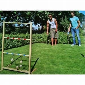 Jeux Exterieur Anniversaire : lancer de tac jeu de lancer de boules balles sur une chelle en bois ~ Melissatoandfro.com Idées de Décoration