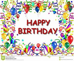Happy birthday border template joy studio design gallery best design for Birthday posters free download