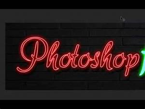 how to create a hot Neon animated GIF image in photoshop