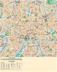 Moscow City Map