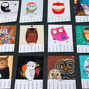 Kalender Selber Basteln Ideen : ein toller eulenkalender zum selbst ausdrucken ~ Orissabook.com Haus und Dekorationen