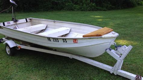 Mirror Craft Boats by 12 Aluminum Mirro Craft Fishing Boat For Sale