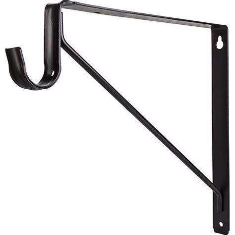 closet rod bracket restorers shelf rod support bracket for closet rods