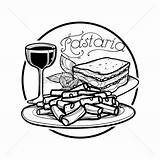 Lasagna Clipart Drawing Clipartmag sketch template