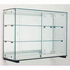 Vitrine Murale Verre : vitrine model ver luisant alle glazen oppervlakken ~ Teatrodelosmanantiales.com Idées de Décoration