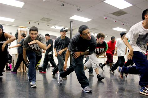 lights camera action song dancers of versa style crew display hip hop culture in