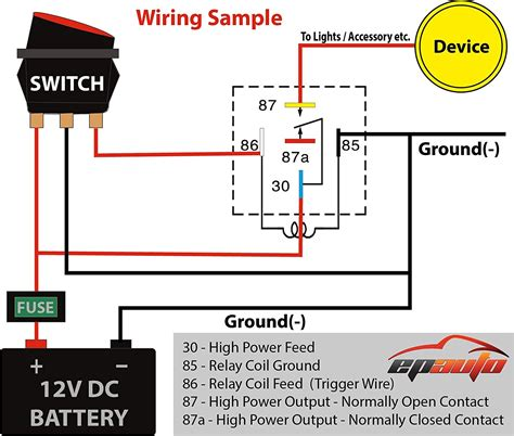 pin relay wiring diagram electrical website kanriinfo