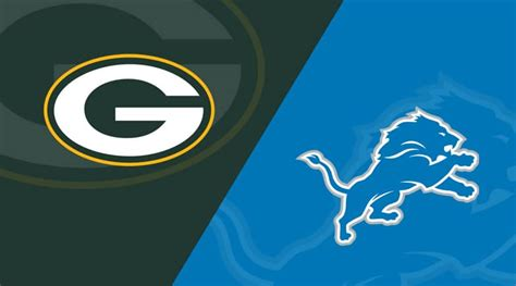 detroit lions  green bay packers  oct  replay full