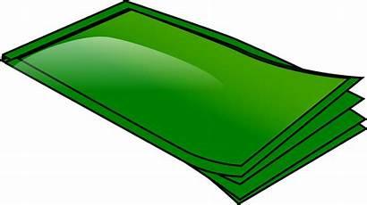 Money Bills Clip Clipart Paper Stack Notes