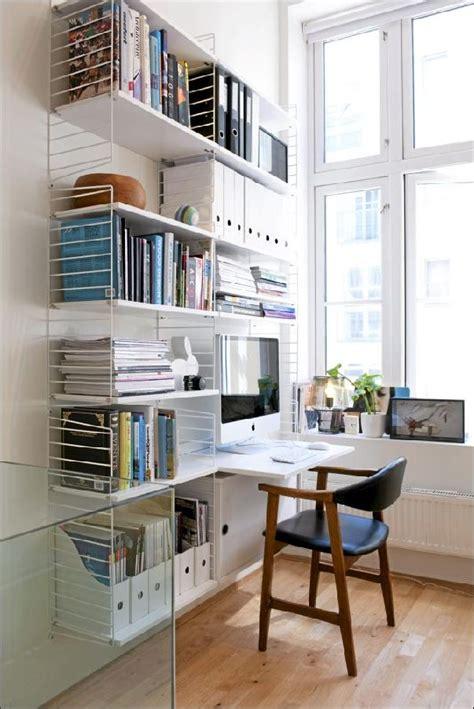 bureau mural rabattable ikea neat organized shelves shelving minimalist shelving and workspaces