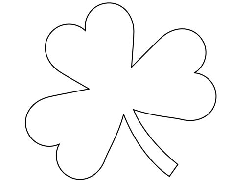 cut out template enjoyable shamrock cut out pattern template 28 images stand up craft free clipart