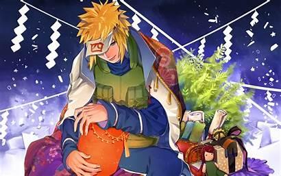 Naruto Christmas Konohagakure Wallpapers Uzumaki Shinobi Manga