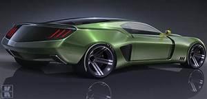 Next-Gen 2023 Ford Mustang Shows Futuristic Fastback Design in Sharp Rendering - autoevolution
