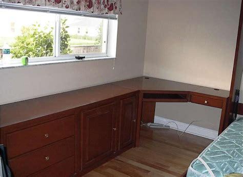 diy  shaped desk   home office corner desk