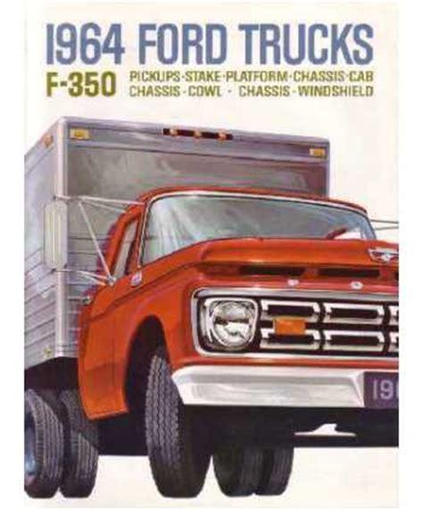 ford  truck sales brochure