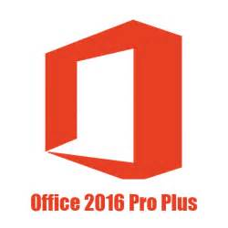 Microsoft Office Professional Plus 2016 32bit & 64bit Version for Windows PC