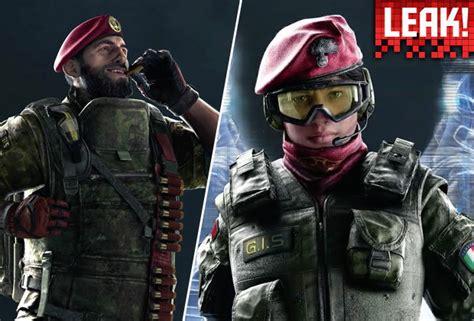 rainbow  siege operators  italian info leak