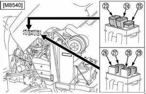 Kubota Power Krawler M8540 Narrow