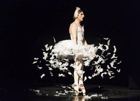 ballet de monte carlo review les ballets trockadero de monte carlo perform quot swan lake quot quot patterns in space quot quot pas de
