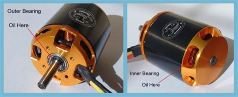 Scorpion Motorlager Öl / Schmier Set 30ml / Motor Bearing