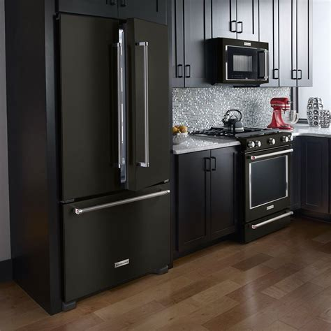 home trend black stainless steel appliances  family
