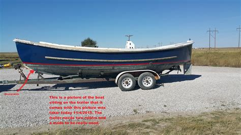 Length Of Boat Trailer For 20 Foot Boat by Uniflite Inc 26 Foot Motor Whale Boat Mk10 1976 For Sale