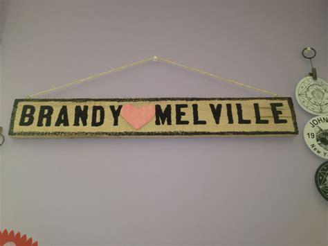 Diy Brandy Melville Sign. (materials