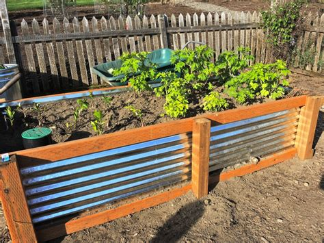 elevated garden bed how to galvanized garden beds blueberry hill crafting