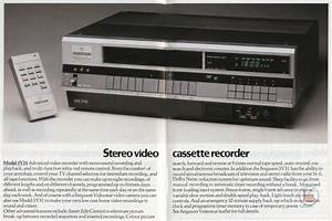 Early 1980s Ferguson Video Recorders