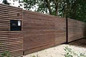 Portail 3 50m : portail coulissant bois portail 3 50m maison infos ~ Premium-room.com Idées de Décoration