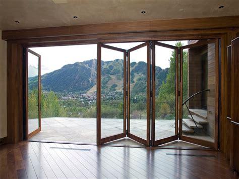 patio folding doors sliding glass patio doors exterior