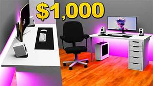 1000, Desk, Setups, Setup, Builds