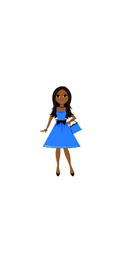Clipart Clip Pretty Teenage Young African American
