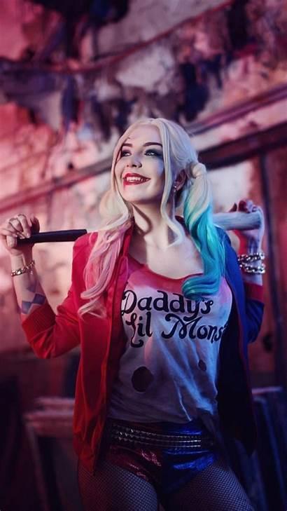 Quinn Harley Joker Wallpapers Iphone Phone Prey