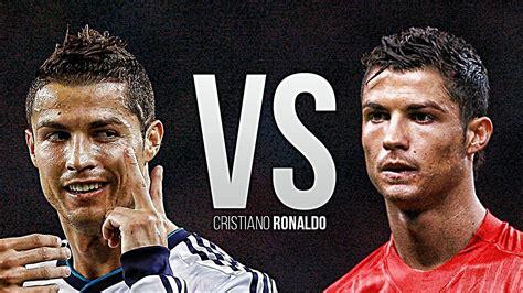 Cristiano Ronaldo • Manchester United Vs Real Madrid