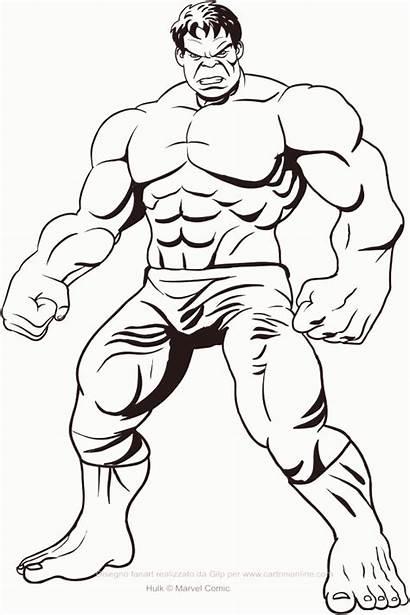 Hulk Colorear Desenhos Coloriages Colorir Colorare Disegni