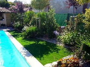 amenagement exterieur piscine jardin am nagement ext With eclairage exterieur maison contemporaine 13 amenagement exterieur zen contemporain piscine lyon