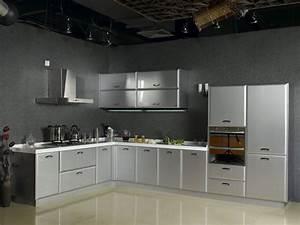 Stainless Steel Kitchen Cabinets Smart Home Kitchen