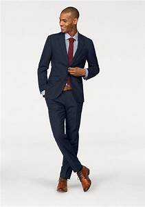 Blauer Anzug Schwarze Krawatte : class international anzug mit elastananteil online kaufen otto ~ Frokenaadalensverden.com Haus und Dekorationen