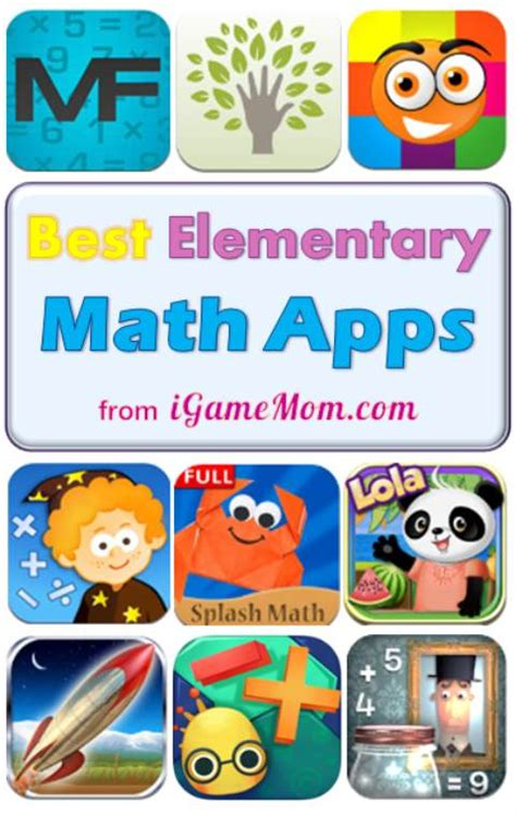 best math apps for early elementary school 505 | Best math apps for kindergarten elementary school students