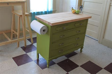 kitchen island made from dresser 3 idee per ricavare spazio in cucina mansarda it 9411