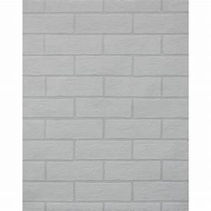 York Wallcoverings, Inc Brick Paintable Wallpaper