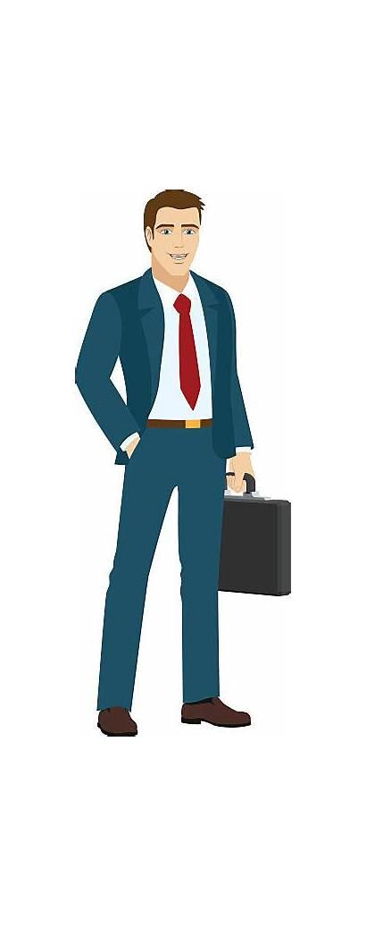 Salesman Clip Clipart Vector Business Illustrations Title